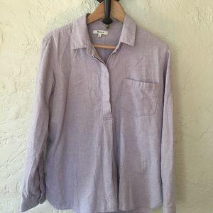 Madewell | Flannel Classic Ex-Boyfriend Shirt